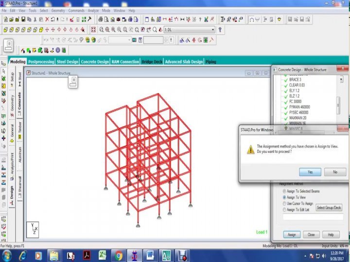 STAAD software and its application in Structural Engineering Practice