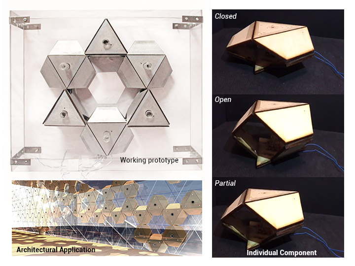 MATERIAL COMPUTATION: PROGRAMMABLE SMART MATERIALS - SENSING AND RESPONSIVE ARCHITECTURE.